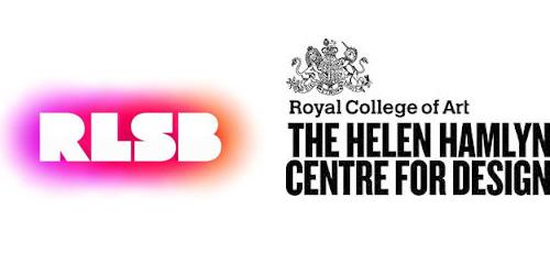 Logos of the RLSB and Helen Hamlyn Centre for Design