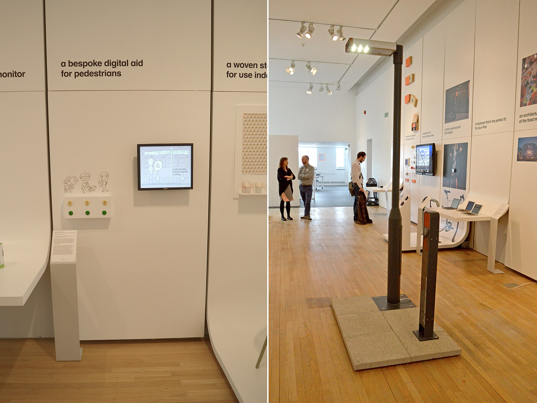 Furniture Design Exhibition London responsive street furniture   ross atkin associates